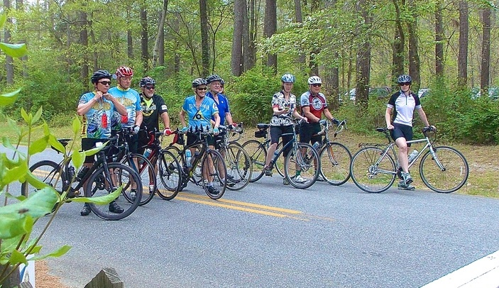 Cyclists Gearing up for Iron Furnace Fifty