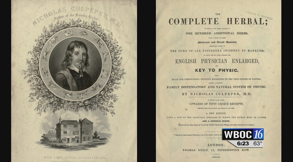 Travels With Charlie: Nicholas Culpeper (1616-1654)