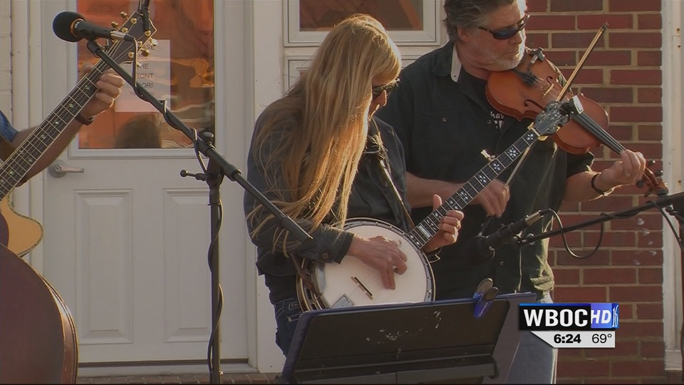 Travels With Charlie: Michelle Green, Banjo Player of Crisfield