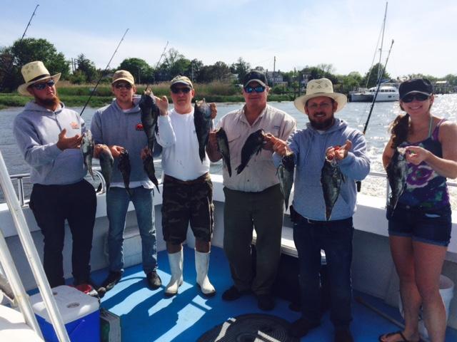 Outdoors Delmarva's Annual Black Sea Bass Trip in the Delaware Bay
