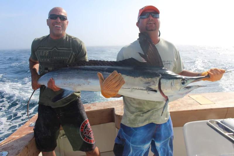 Royce Gracie goes Marlin fishing (Photo: Kevin Killian)