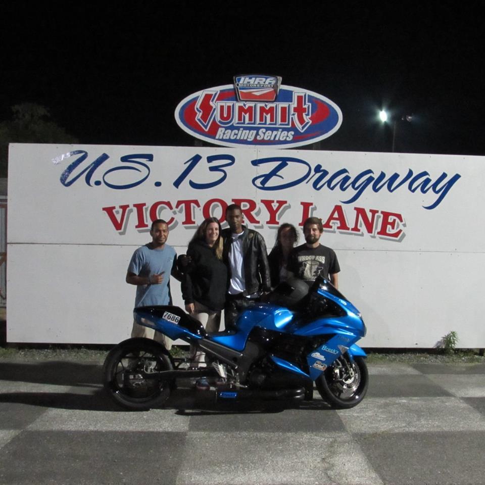 Outten Bros Pro Bike Winner Deltez Davis