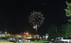 Cypress' fireworks in 2014. (Photo Credit: Pocomoke Area Chamber of Commerce)