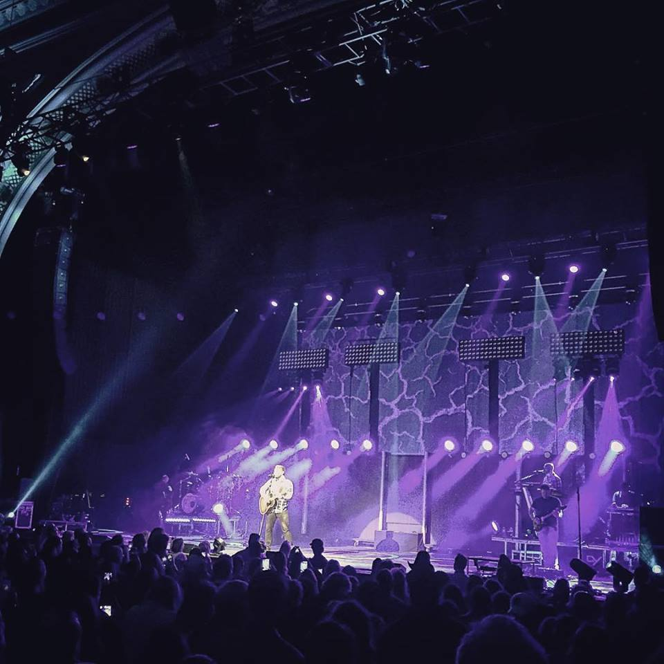 Delmarva Native Helps Set Up Stages and Lighting for Firefly Music Festival