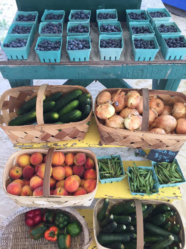 The Magee Farms have a wide variety of fresh produce that they grow and sell. (Photo Credit: Magee Farms)