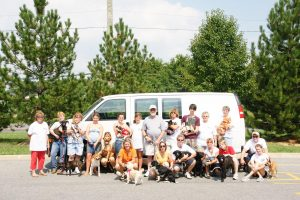 Paws of Tomorrow takes the old, the injured, the sick, the ugly, and the scared dogs. This requires a dedicated group of volunteers. (Photo Credit: Paws of Tomorrow)