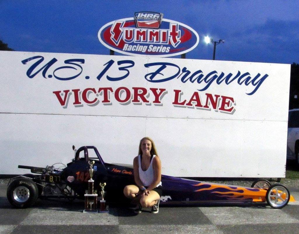 Drag Racing: Clarke Takes Jr 2 Win: U.S. 13 Dragway