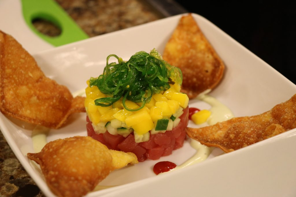 In the Kitchen with Chef Jason Myers with Roadie Joe's Bar and Grill Making an Ahi Tuna Stack