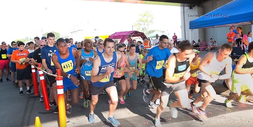 The Delaware KIDS (Kids In Distressed Situations) Fund Inaugural Que Pasa 5k is August 13
