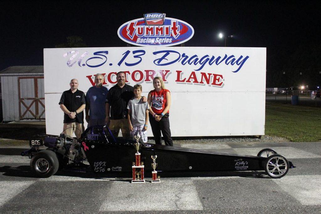 Drag Racing: Brett Holston Takes Jr 2 Win: U.S. 13 Dragway