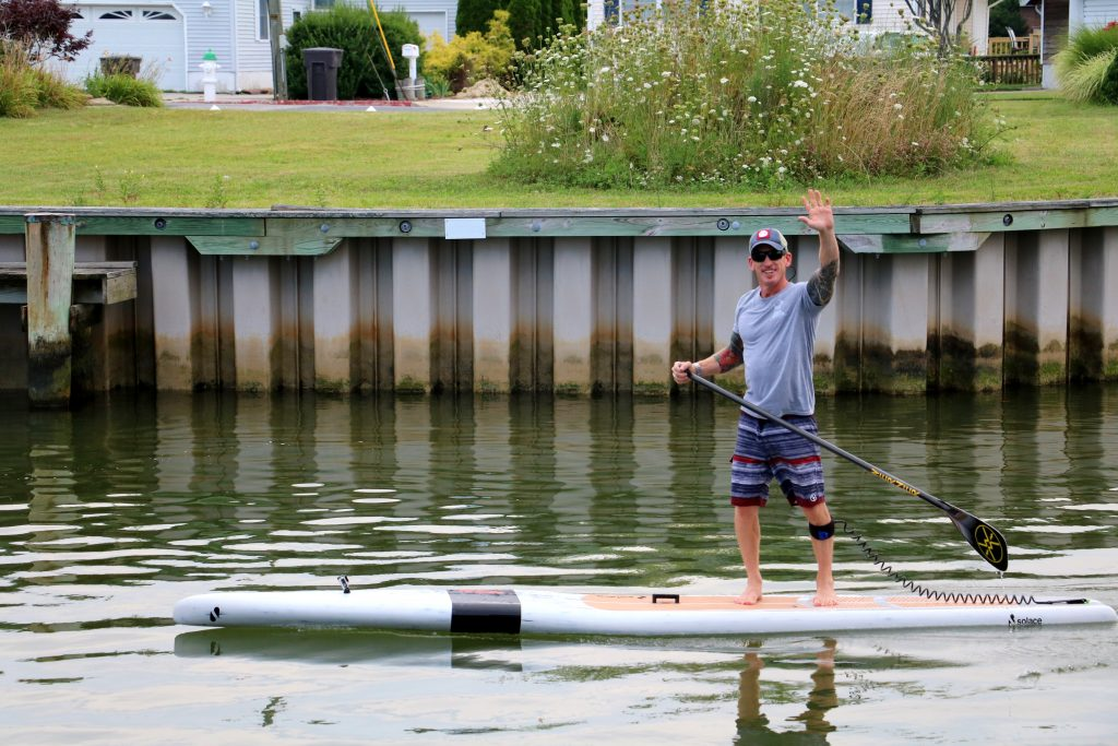 Avid Stand Up Paddleboarder, OCMD Local, Competes in 25-Mile Race