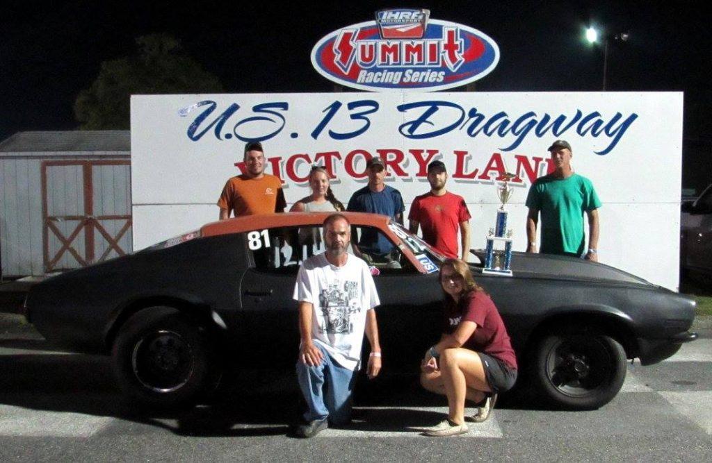 Drag Racing: Sara Davis Takes Hot Rod Win: U.S. 13 Dragway