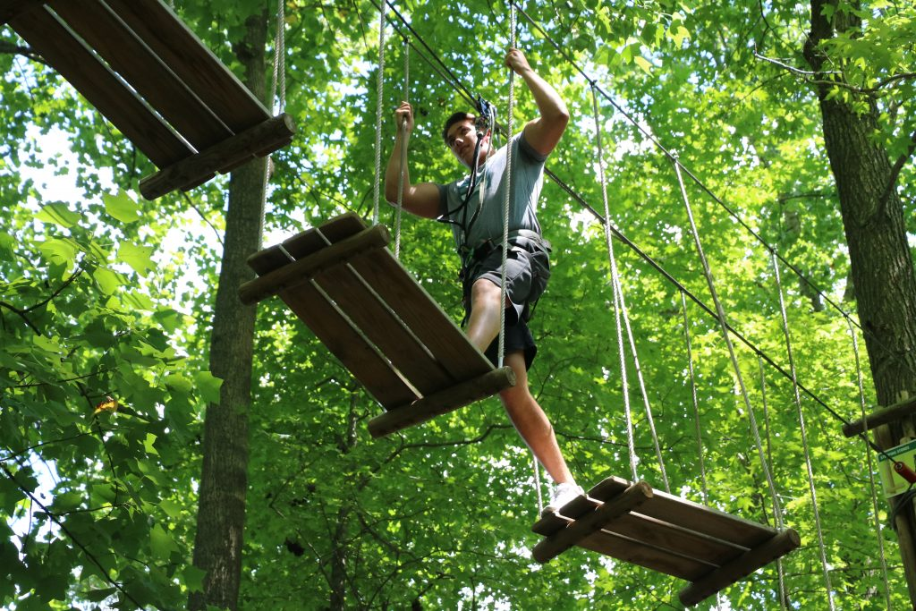 Day Trip to Lums Pond State Park and Treetop Adventure Course at Go Ape