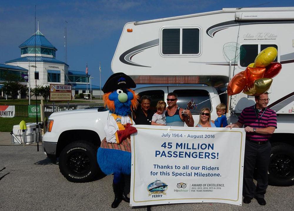 Cape May-Lewes Ferry Celebrates Passenger Milestone