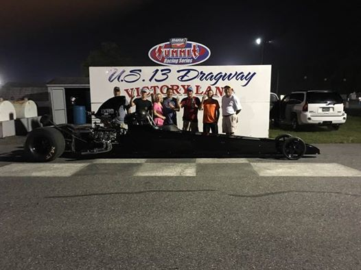 Drag Racing: Bishop Takes Top ET Win: U.S. 13 Dragway