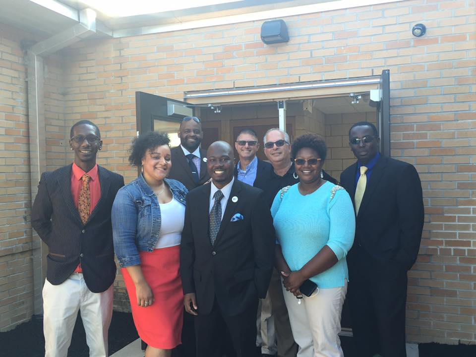 100 Men Dressed for Success in Seaford, Del. for the First Day of School