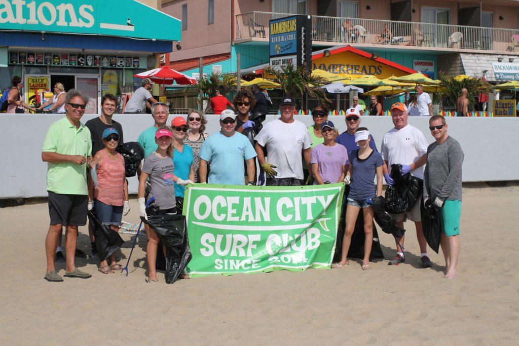 International Coastal Cleanup in Ocean City 2016