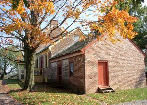 Autumn scene at the John Dickinson Plantation. (Photo: Delaware Division of Historical and Cultural Affairs)