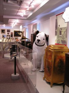 Displays at the Johnson Victrola Museum. (Delaware Division of Historical and Cultural Affairs)