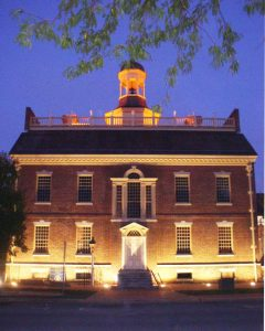 The Old State House. (Delaware Division of Historical and Cultural Affairs)