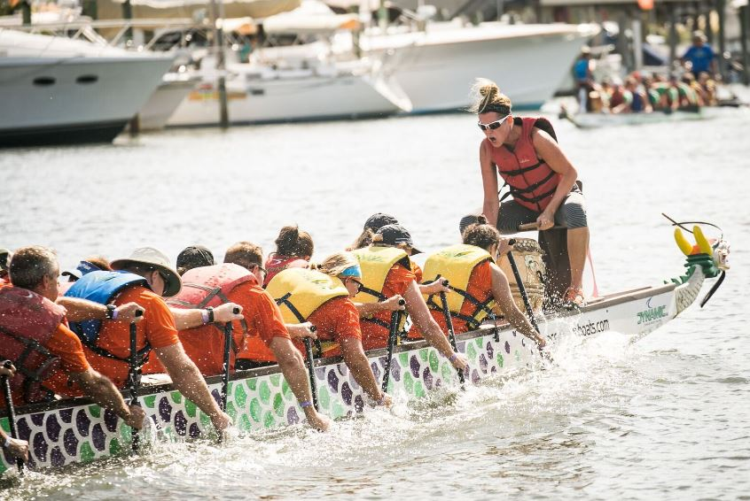 Lewes Dragon Boat Festival Makes a Splash in Sussex County