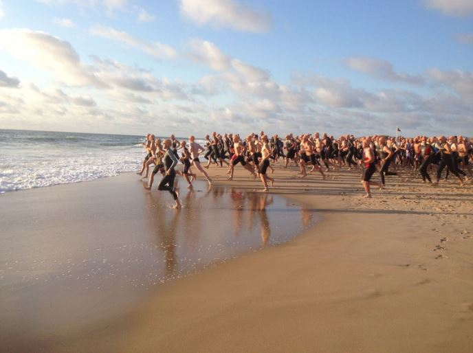 Senior Relay Team Places Among Best in Dewey Beach Sprint Triathlon