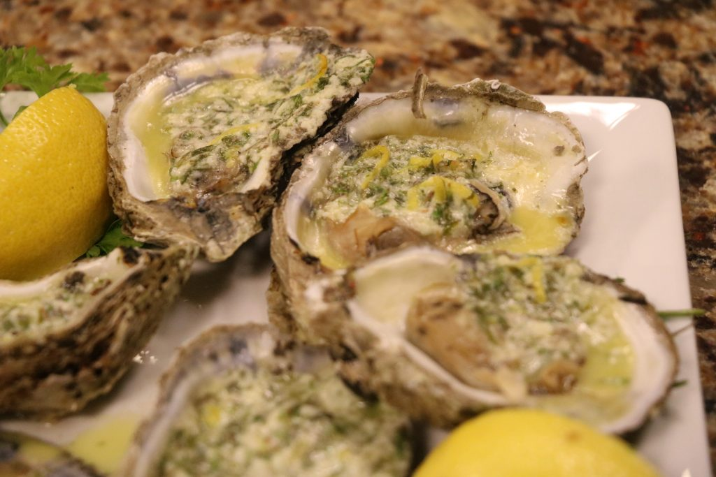 Herbed Oysters with Suicide Bridge Restaurant