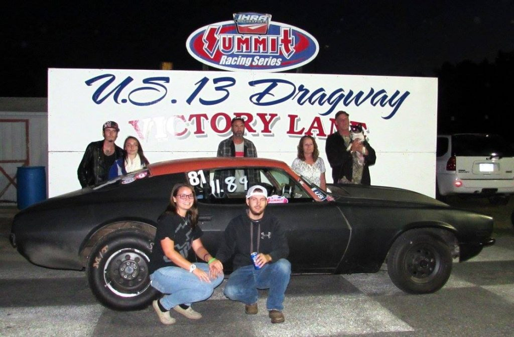 Drag Racing: Sara Davis from Seaford, Del. Takes Win in Hot Rod Division: U.S. 13 Dragway