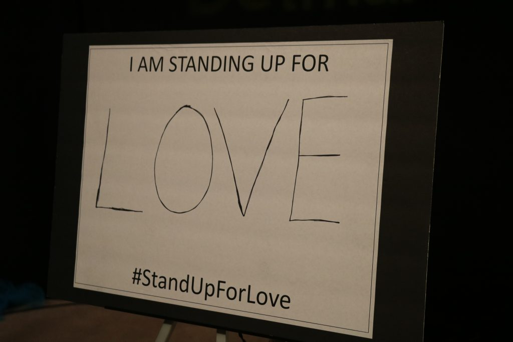 """""""Stand Up for Love"""" Awareness Event"""
