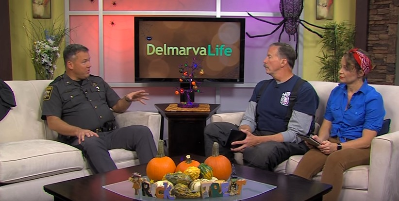 Lt. Tim Robinson with the Wicomico County Sheriff's Office Shares Halloween Safety Tips