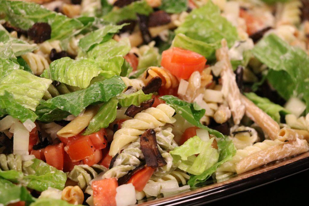 Vegan BLT Pasta Salad with Kelcie Mahr