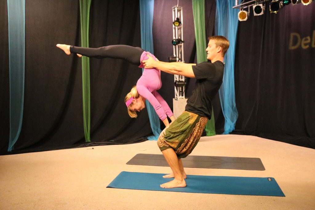 Learning About the Importance of Yoga and Sean Tries Acroyoga with Yogini Kelcie Mahr