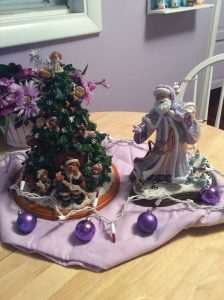 Rosemarie Thomas' Christmas tree.