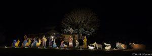 Nativity scene, taken in Wattsville, Virginia near Wallops Island. Photo by Keith Misener of Lewes, Delaware.