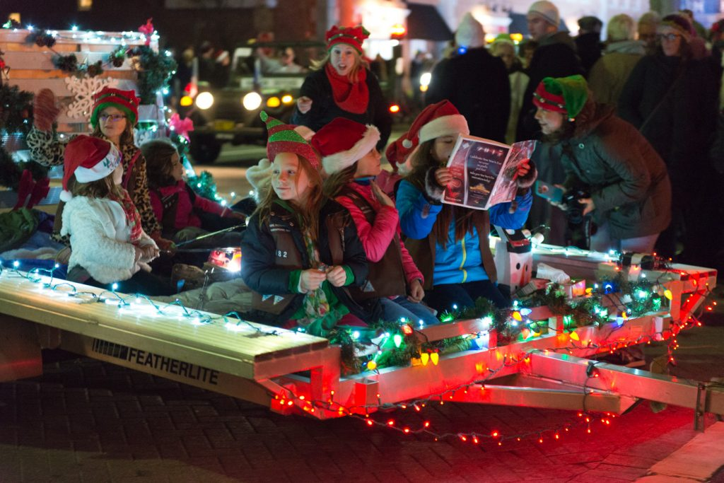 85th Annual Christmas Parade Held in Lewes