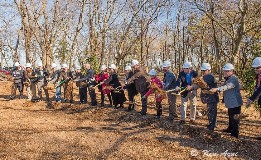 Delaware Botanic Gardens Holds Groundbreaking, Launches Phase One