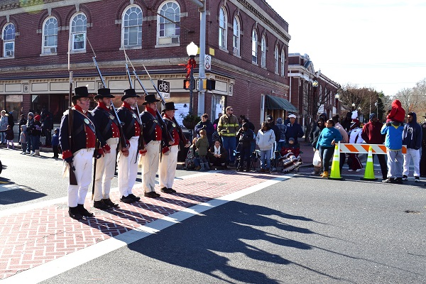 Princess Anne Holds Annual Christmas Parade