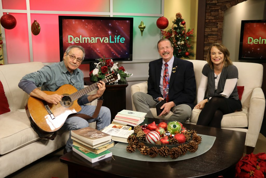 Show and Tell with Charlie Paparella, Books About the Delmarva Peninsula