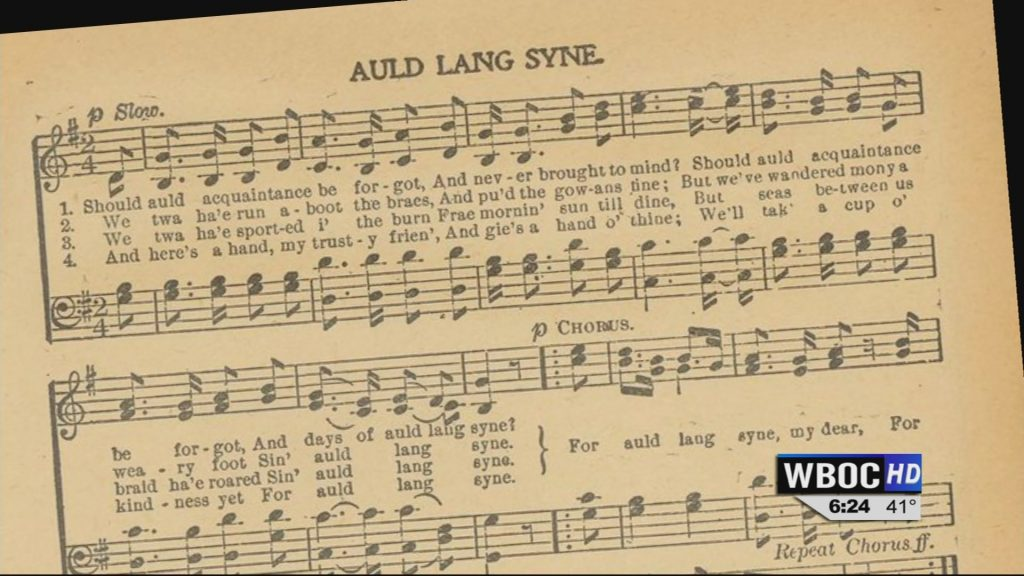 """Travels With Charlie: History of """"Auld Lang Syne"""""""