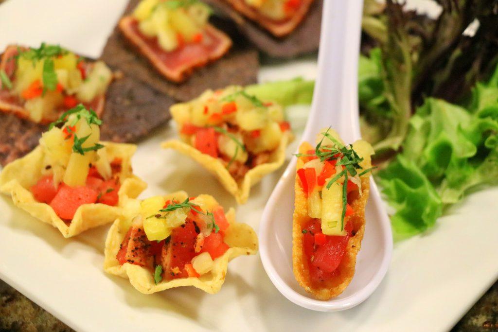 Tuna Tacos and Chefs For Habitat 2017 Gourmet Gala
