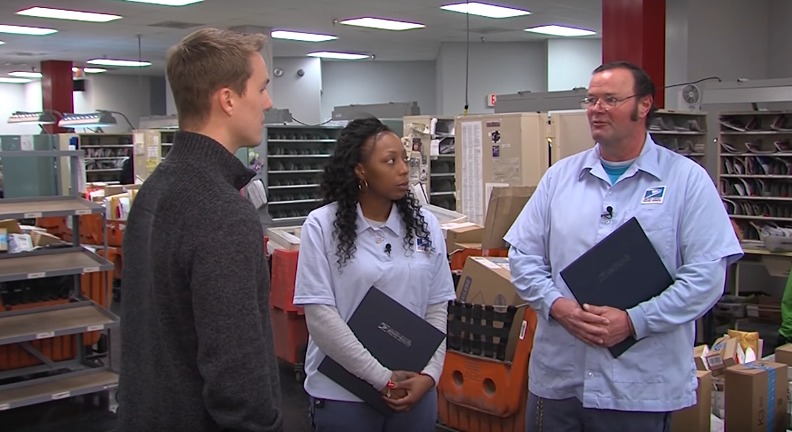 Local Letter Carriers Save a Life