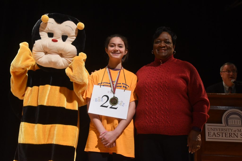 Four-time Competitor Wins Maryland Eastern Shore Regional Spelling Bee
