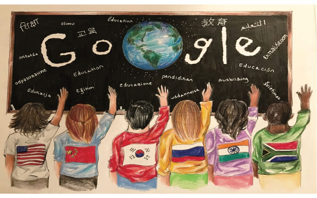 """Caesar Rodney Student finalist in """"Doodle 4 Google"""" National Competition"""