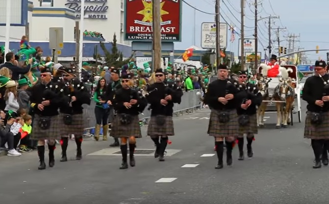 Ocean City St. Patrick's Day Parade Winners Announced