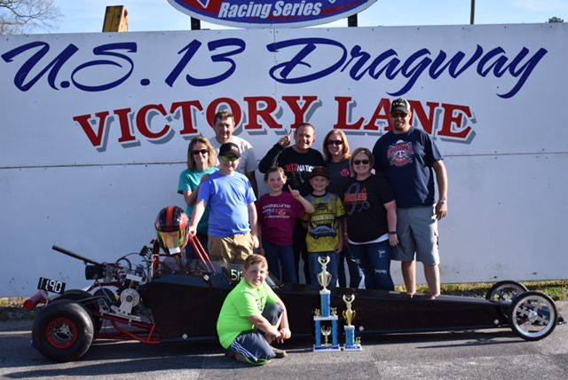 Drag Racing: Foskey Takes First Win in Jr. Dragster 1 Class: U. S. 13 Dragway