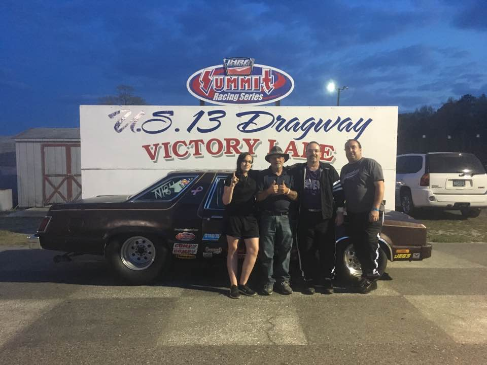 Drag Racing: Yates Takes Mod ET Win: U. S. 13 Dragway