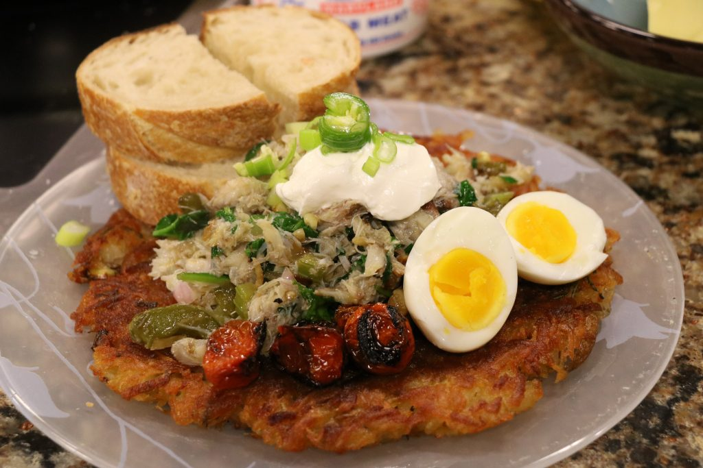 Crab Hash with Ocean Odyssey