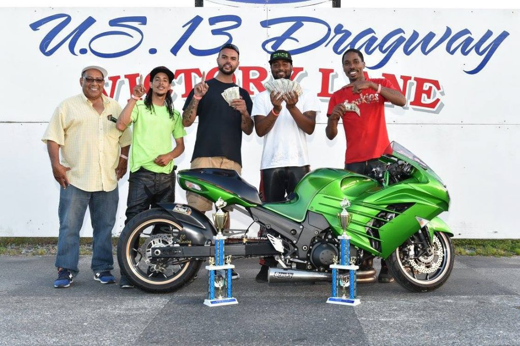 Jeremy Brown Wins Outten Brother's 3rd Annual Bike Brawl at U. S. 13 Dragway