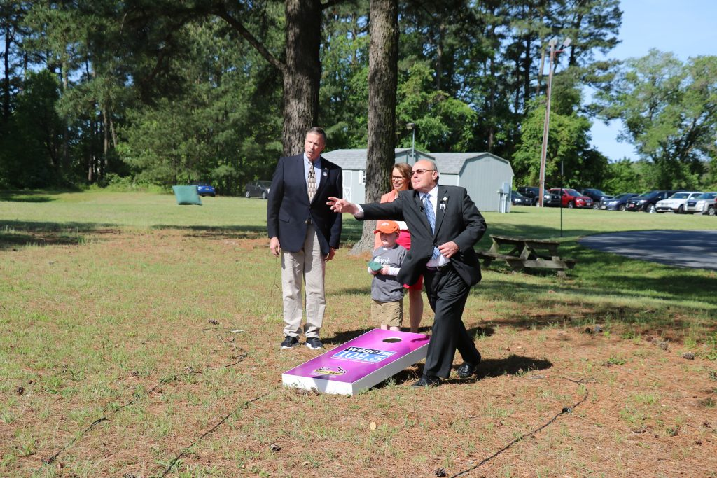 Georgetown Mayor Bill West Talks About Being Mayor and Plays Cornhole Confessions