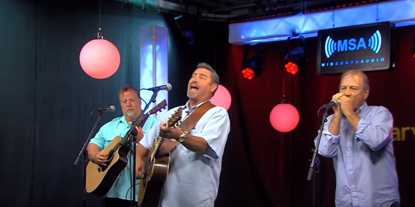 """Randy Lee Ashcraft and the Saltwater Cowboys Perform """"God Bless the USA"""" and one of their originals, """"Tame My Heart."""""""